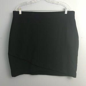 Black H&M Mini Skirt - XL